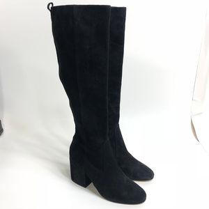 NEW Sam Edelman Thora Knee High Boots Suede 8